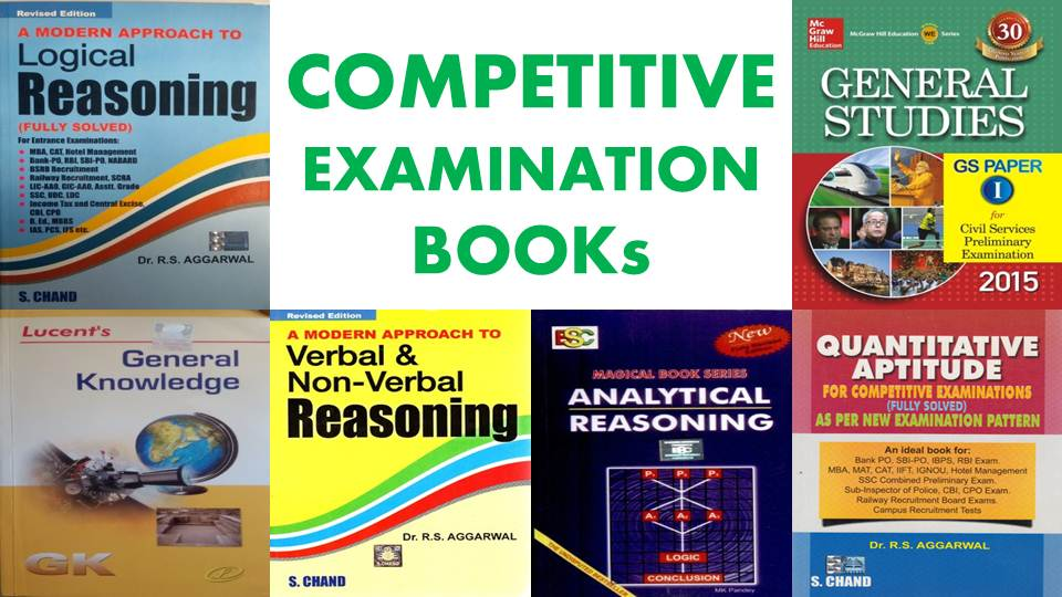 COMPETITIVE EXAMINATION BOOKs